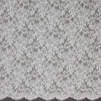 French Paisley Lace Fabric - Ivory