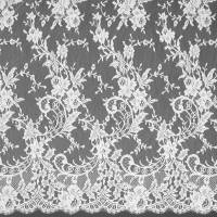 French Lace Fabric - Ivory