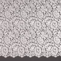 French Corded Lace Fabric - Champagne