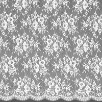 Bow Lace Fabric - Ivory