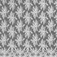 Chantilly Lace Fabric - Ivory