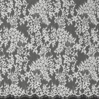 Leavers Lace Fabric - Ivory
