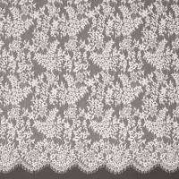 Leavers Lace Fabric - Blossom Pink
