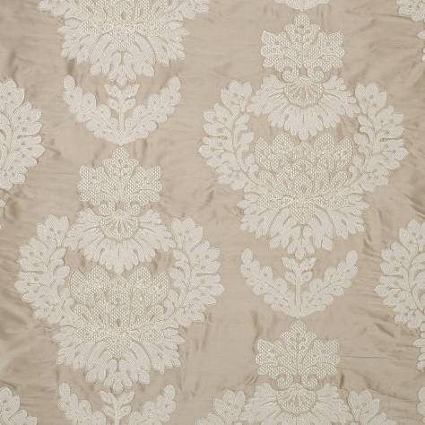 James Hare Portobello Fabrics Westbourne Damask Fabric - Plover - 31587/01