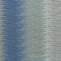 Lyra Stripe Fabric - Sea Spray
