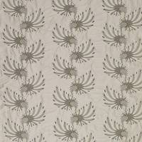 Plume Fabric - Blanched Almond / Gold