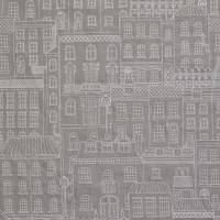 Berkeley Square Fabric - Grey