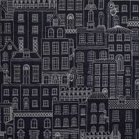 Berkeley Square Fabric - Navy