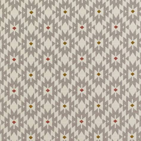 James Hare Fitzrovia Fabrics Piccadilly Fabric - Grey - 8324/01
