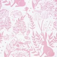 Hedgerow Fabric - Pink