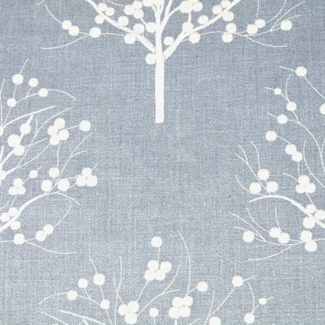 Clarke & Clarke Manor House Fabrics Bowood Fabric - Chambray - F0733/01 - Image 1