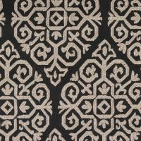 Zari Fabric - Ebony