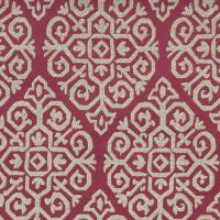 Zari Fabric - Berry