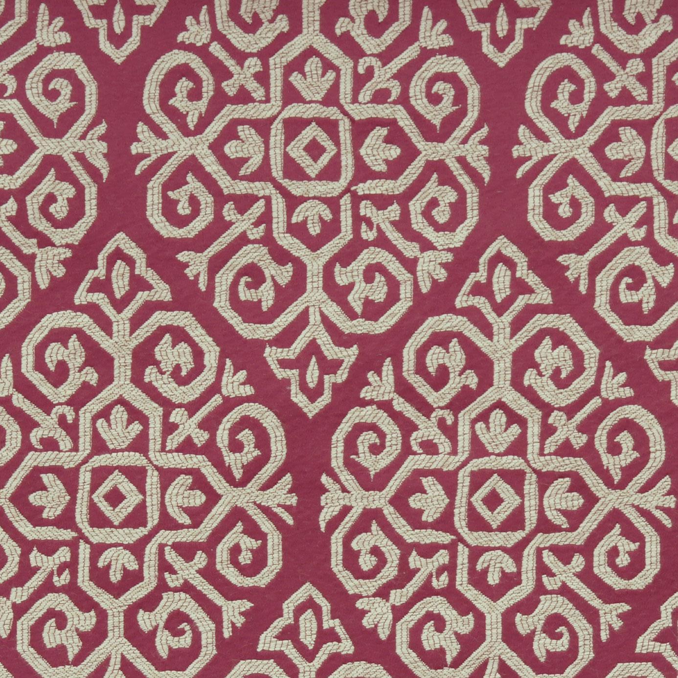 Zari Fabric Berry F0374 06 Clarke Clarke Bukhara