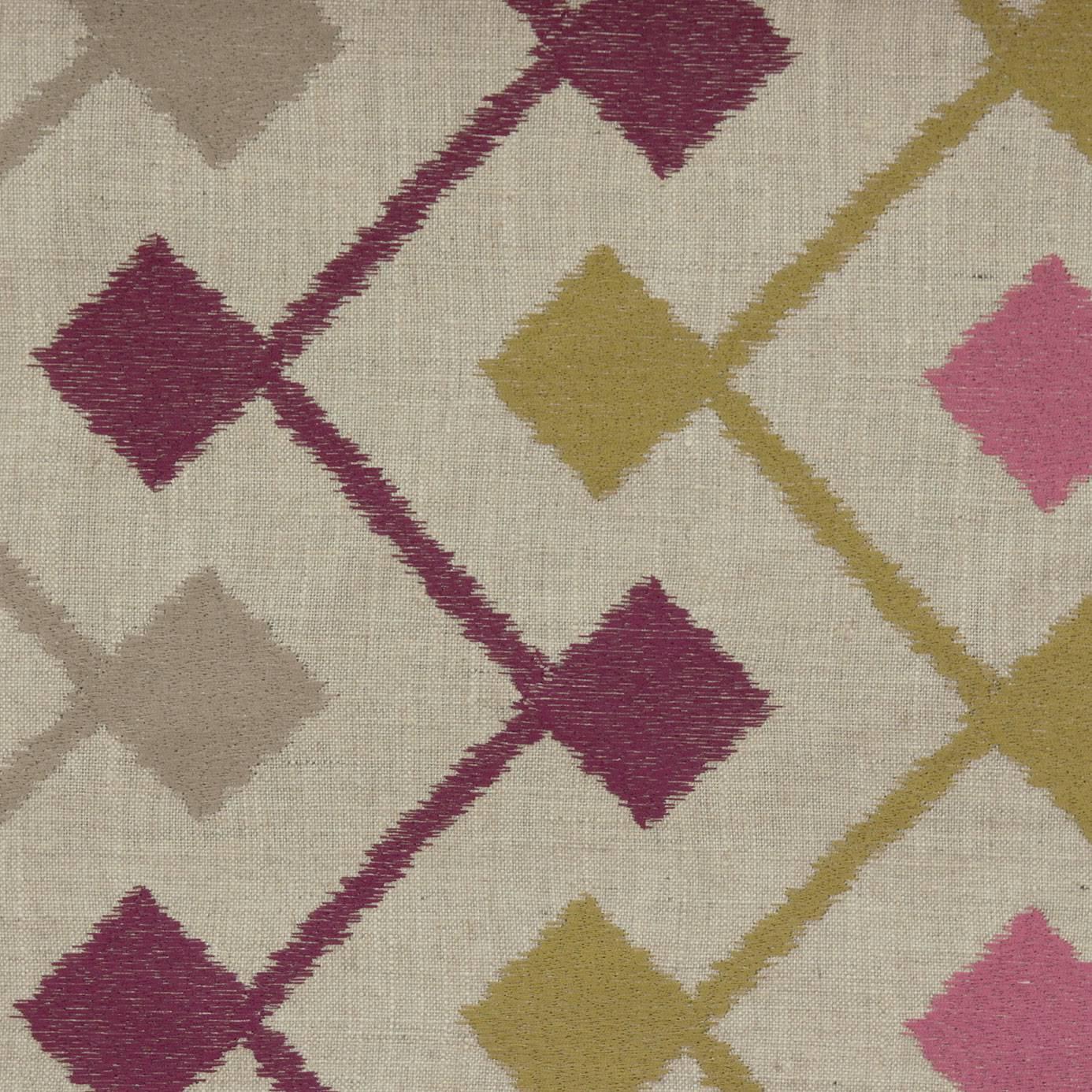Bijar Fabric Berry F0377 06 Clarke Clarke Bukhara