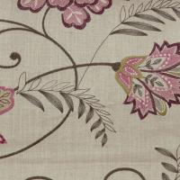 Bukhara Fabric - Berry