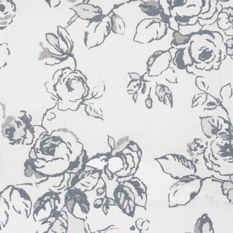 delphine fabric charcoal f0428 01 clarke clarke clarisse fabrics collection. Black Bedroom Furniture Sets. Home Design Ideas
