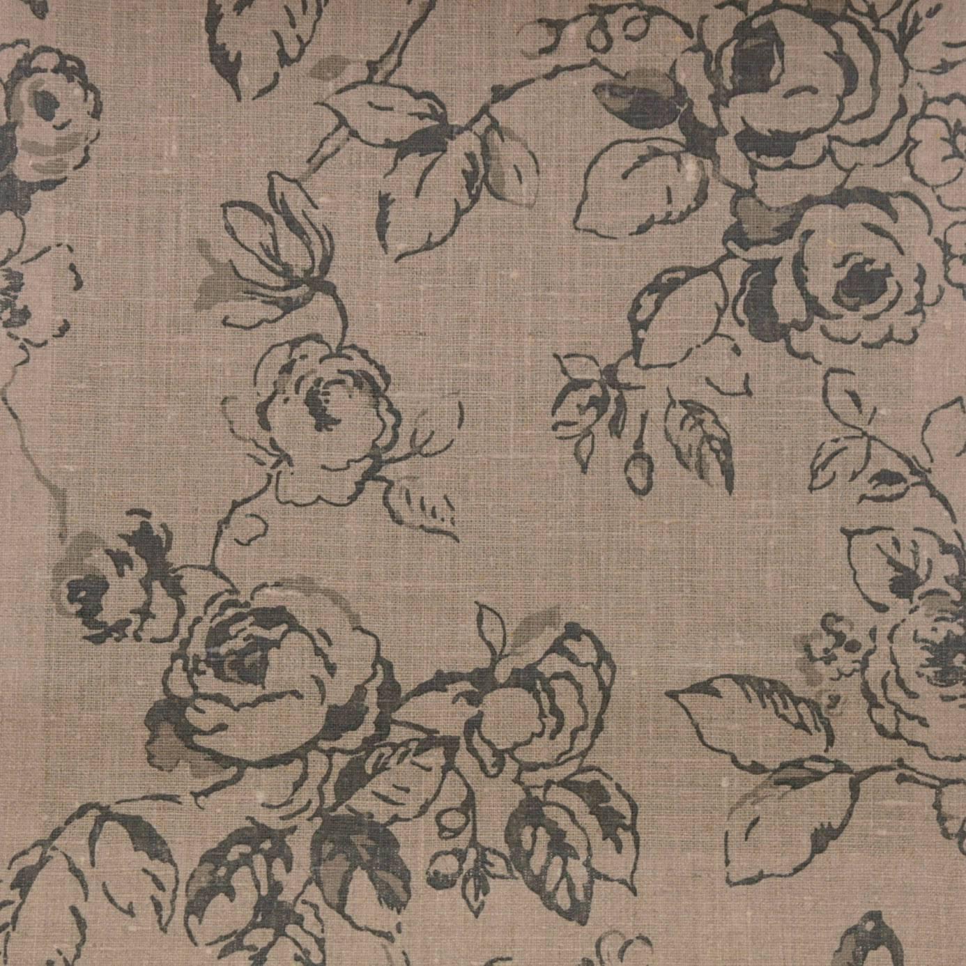 delphine fabric linen f0428 03 clarke clarke clarisse fabrics collection. Black Bedroom Furniture Sets. Home Design Ideas