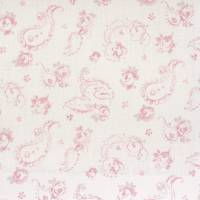 Evelina Fabric - Rose