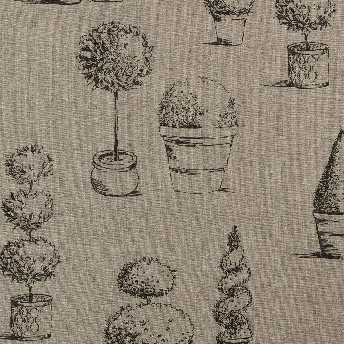 Roman Blinds In Topiary Fabric Linen F0430 03 Clarke