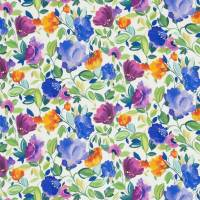 Giselle Linen Fabric - Violet