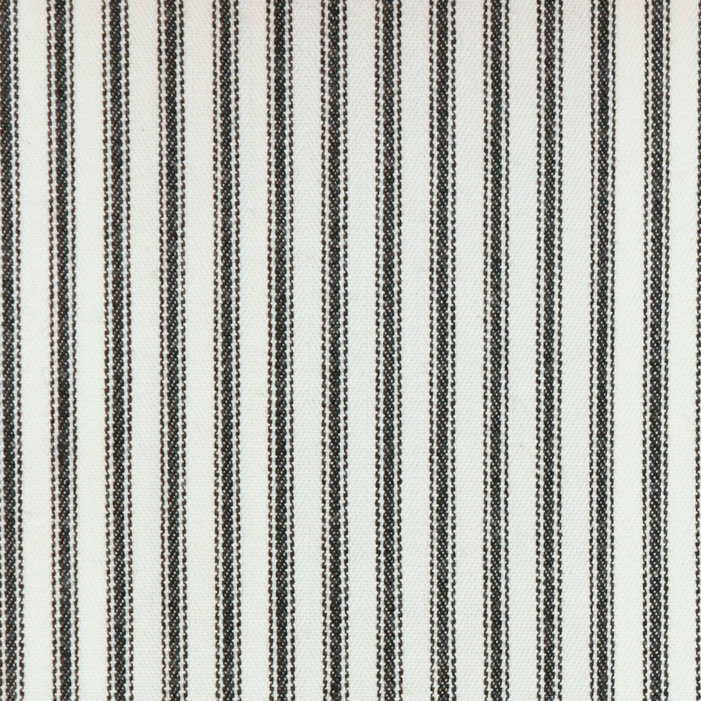 Sutton fabric charcoal f0420 01 clarke clarke for Ticking fabric