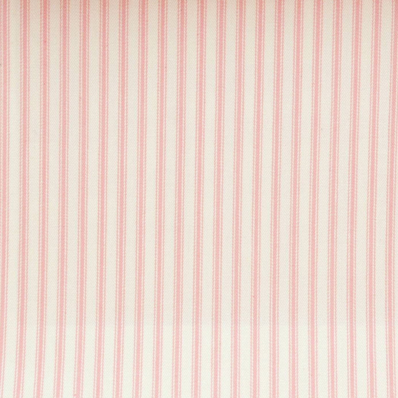 Sutton fabric pink f0420 05 clarke clarke ticking for Ticking fabric