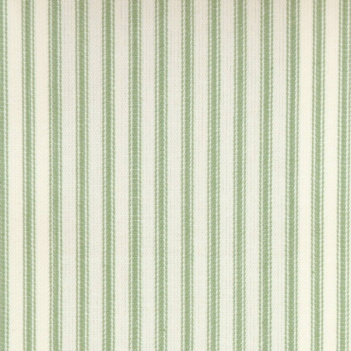 Sutton fabric sage f0420 07 clarke clarke ticking for Ticking fabric