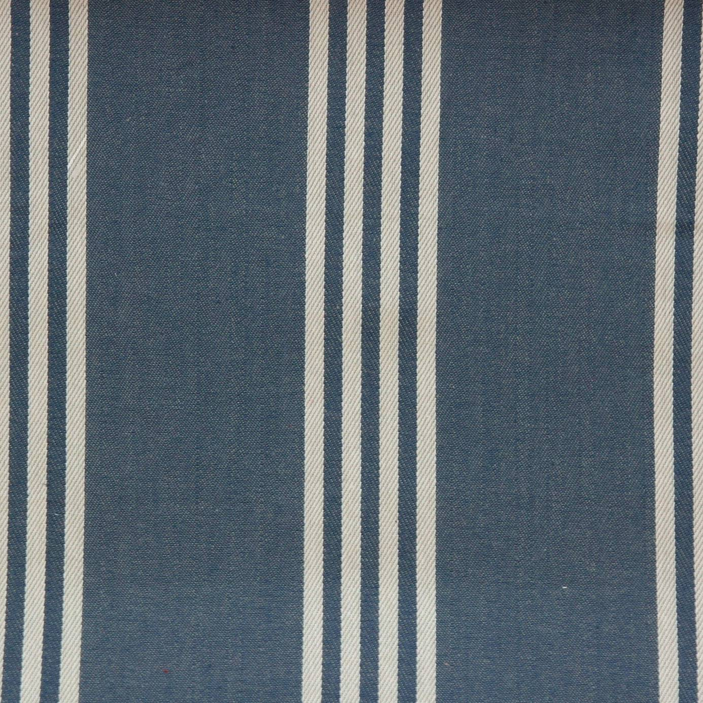 Marlow fabric navy f0422 04 clarke clarke ticking for Ticking fabric