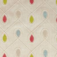Healey Fabric - Raspberry/Duckegg