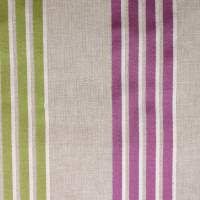Wensley Fabric - Violet/Citrus