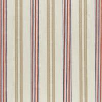Grenada Fabric - Taupe/Rouge