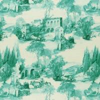 Anastacia Fabric - Teal