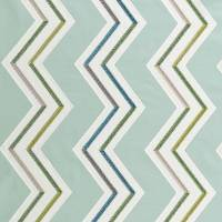 Antibes Fabric - Aqua/Citron