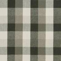 Austin Check Fabric - Charcoal