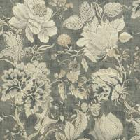 Sissinghurst Fabric - Charcoal