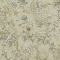 Sissinghurst Fabric - Citron/Natural
