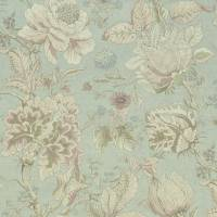 Sissinghurst Fabric - Mineral/Blush
