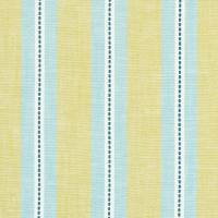 Timo Fabric - Denim/Citron