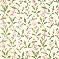 Melrose Fabric - Pink/Apple