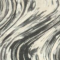 Agata Fabric - Charcoal/Gold