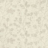 Honesty Fabric - Natural/Gilver