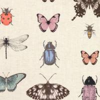 Papilio Fabric - Blush/Natural