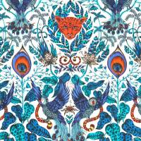 Emma J Shipley Amazon Fabric - Blue