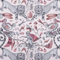 Emma J Shipley Extinct Fabric - Pink