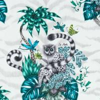 Emma J Shipley Lemur Fabric - Jungle