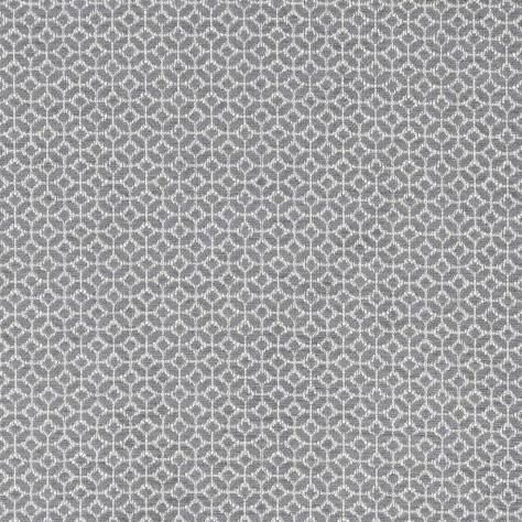 Clarke & Clarke Equinox Fabrics Orbit Fabric - Charcoal - F1133/01