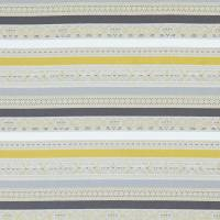 Ommel Fabric - Chartreuse/Charcoal