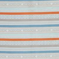 Ommel Fabric - Spice/Teal
