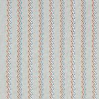 Norah Fabric - Spice/Teal